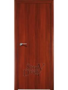 Дверь ламинированная без притвора (итальянский орех)